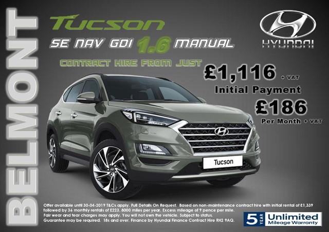 used Hyundai Tucson 1.6 SE NAV in epsom-surrey