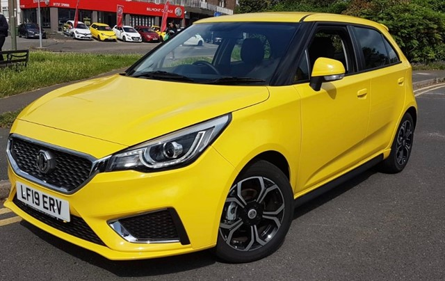 used MG 3 EXCLUSIVE VTI-TECH in epsom-surrey