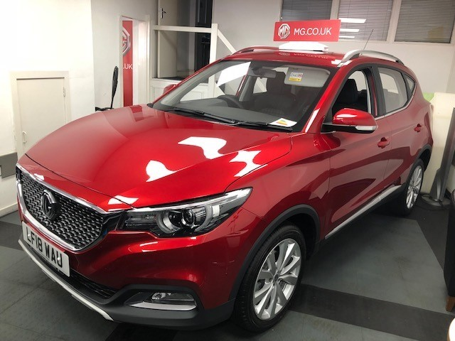 used MG ZS EXCITE in epsom-surrey