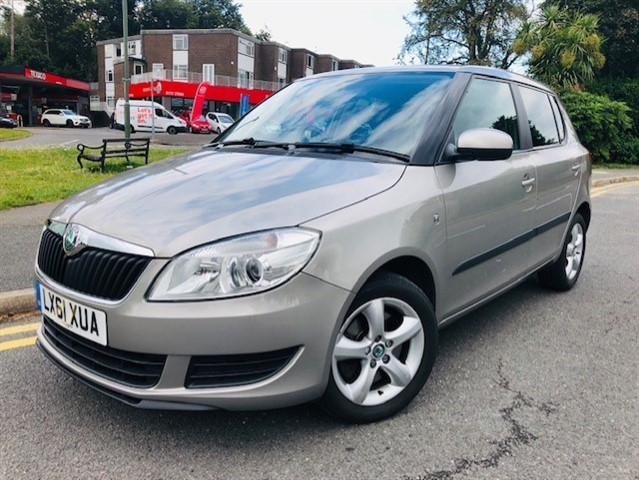 used Skoda Fabia SE PLUS TSI in epsom-surrey