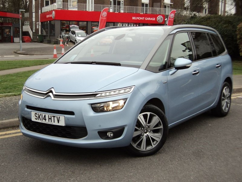 citroen c4 picassogrand e hdi airdream exclusive plus etg6 for sale epsom downs surrey. Black Bedroom Furniture Sets. Home Design Ideas