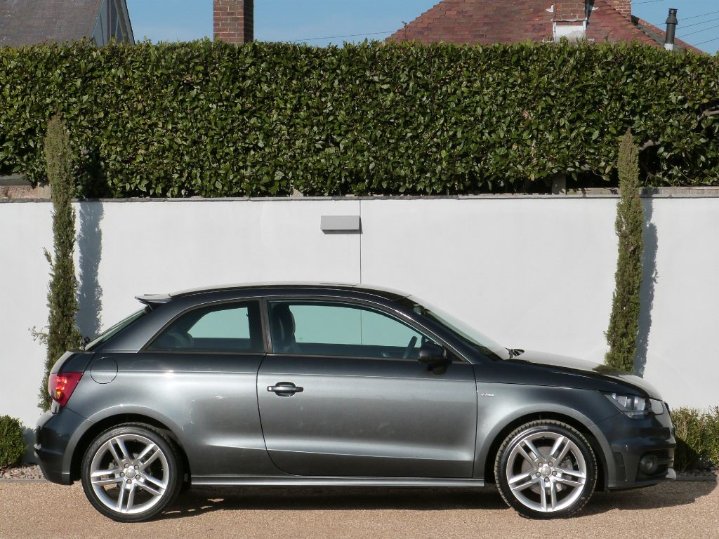 used daytona grey audi a1 for sale dorset. Black Bedroom Furniture Sets. Home Design Ideas