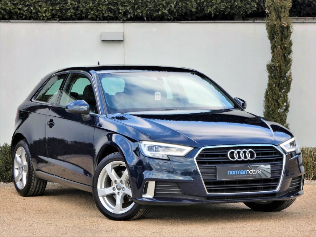 Used Cosmos Blue Audi A3 for Sale | Dorset