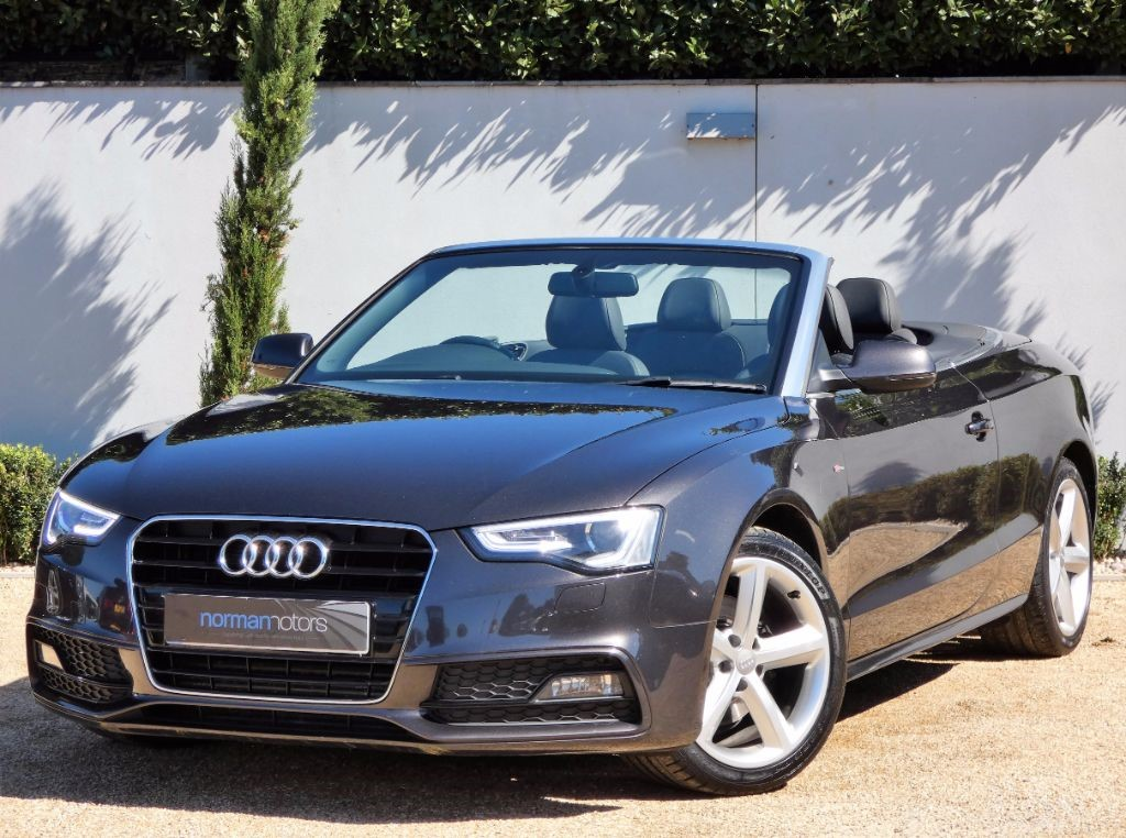 used lava grey audi a5 for sale dorset. Black Bedroom Furniture Sets. Home Design Ideas