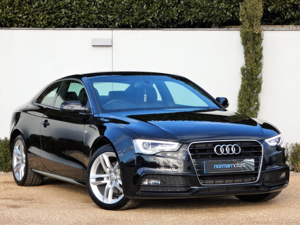 used brilliant black gloss audi a5 for sale dorset. Black Bedroom Furniture Sets. Home Design Ideas