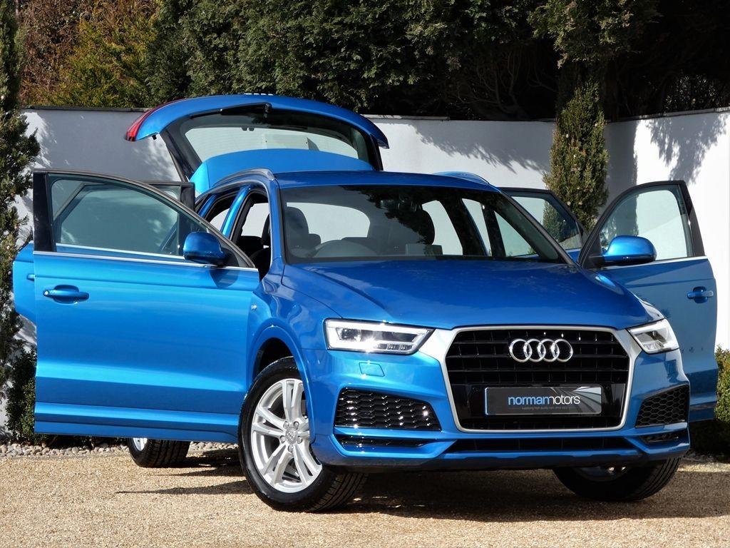 Used Hainan Blue Audi Q3 For Sale Dorset