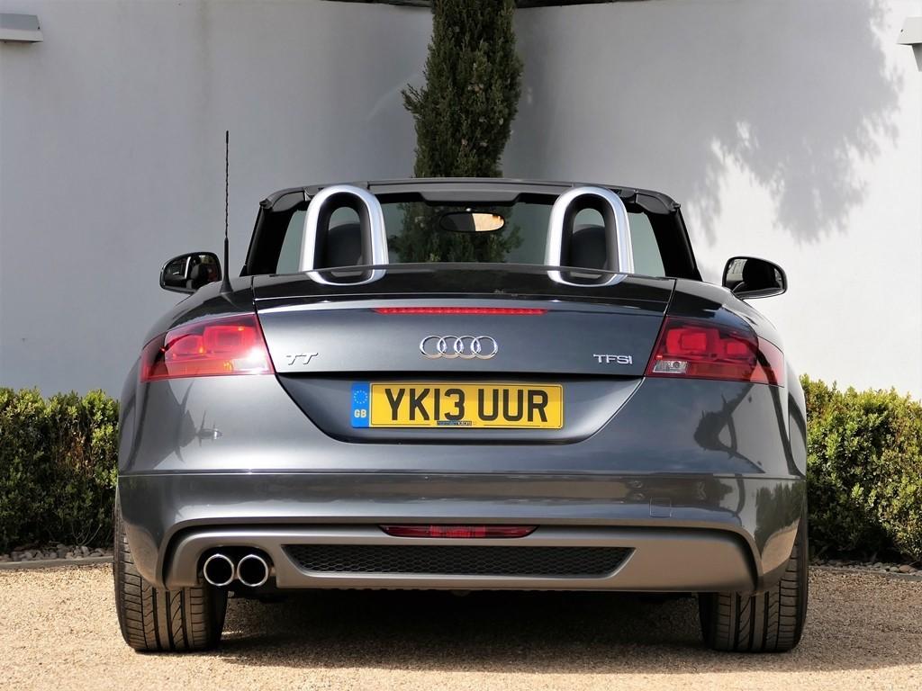 Used Daytona Grey Pearl Effect Audi Tt For Sale Dorset