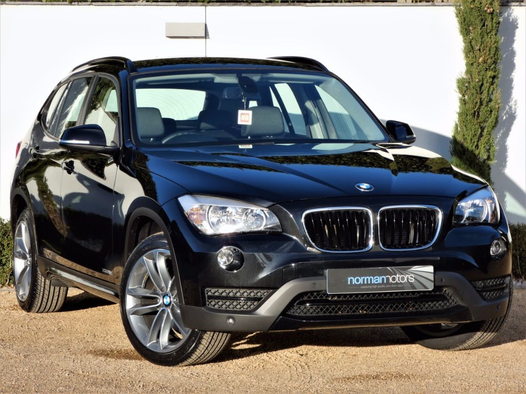 Used Sapphire Black BMW X For Sale Dorset - Black bmw x1