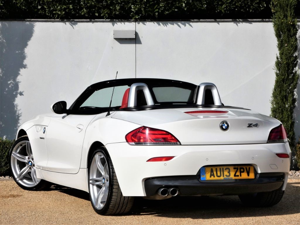 used alpine white bmw z4 for sale dorset. Black Bedroom Furniture Sets. Home Design Ideas