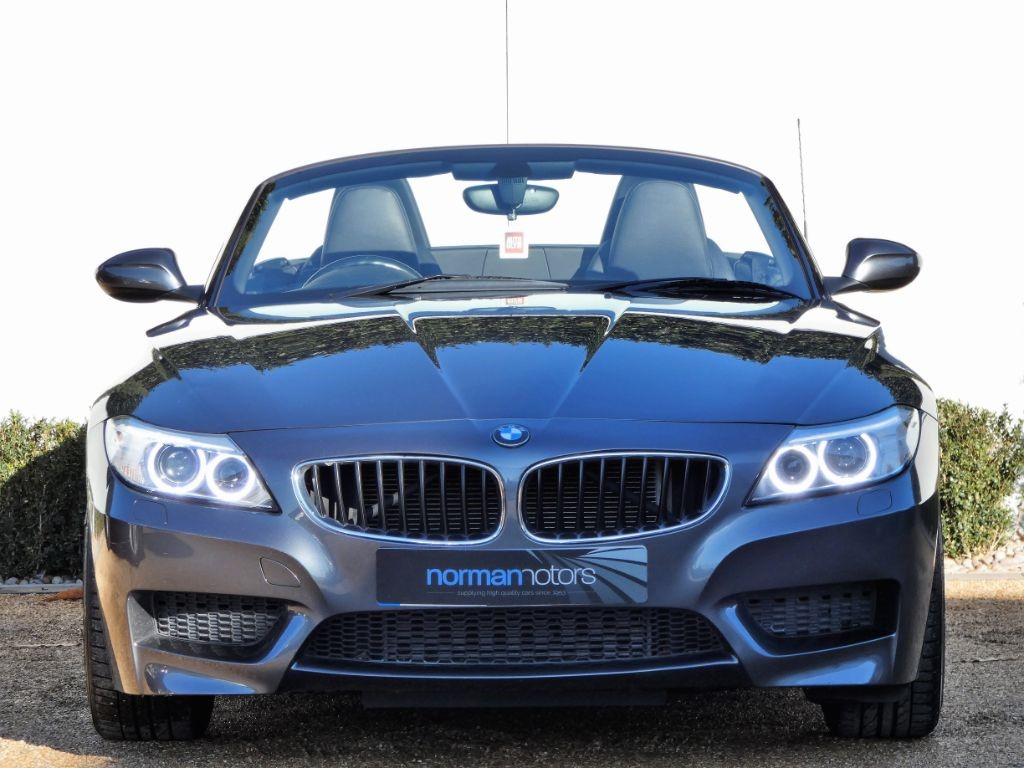 Used Mineral Grey Bmw Z4 For Sale Dorset