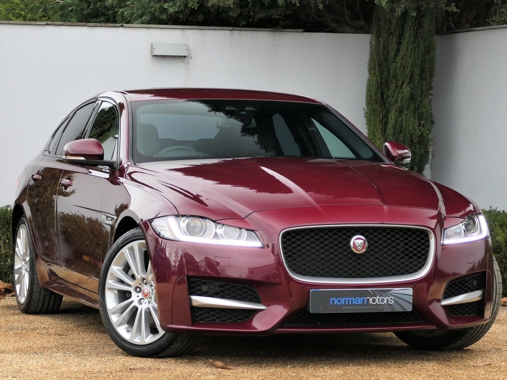 Used Odyssey Red Metallic Jaguar Xf For Sale Dorset