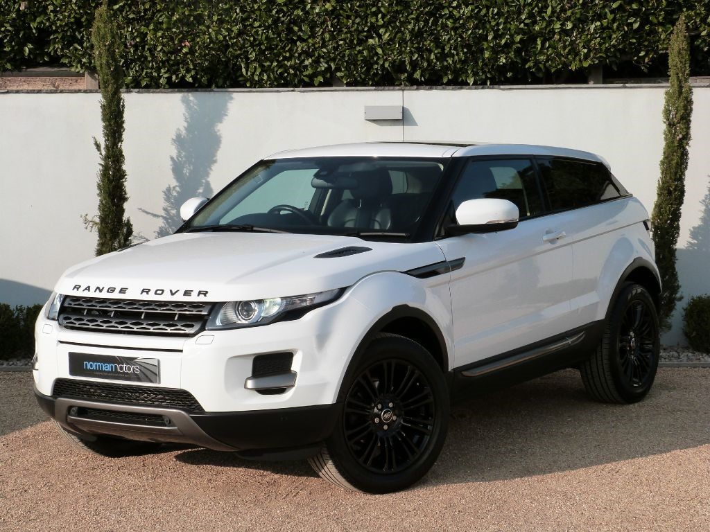 used fuji white land rover range rover evoque for sale dorset. Black Bedroom Furniture Sets. Home Design Ideas