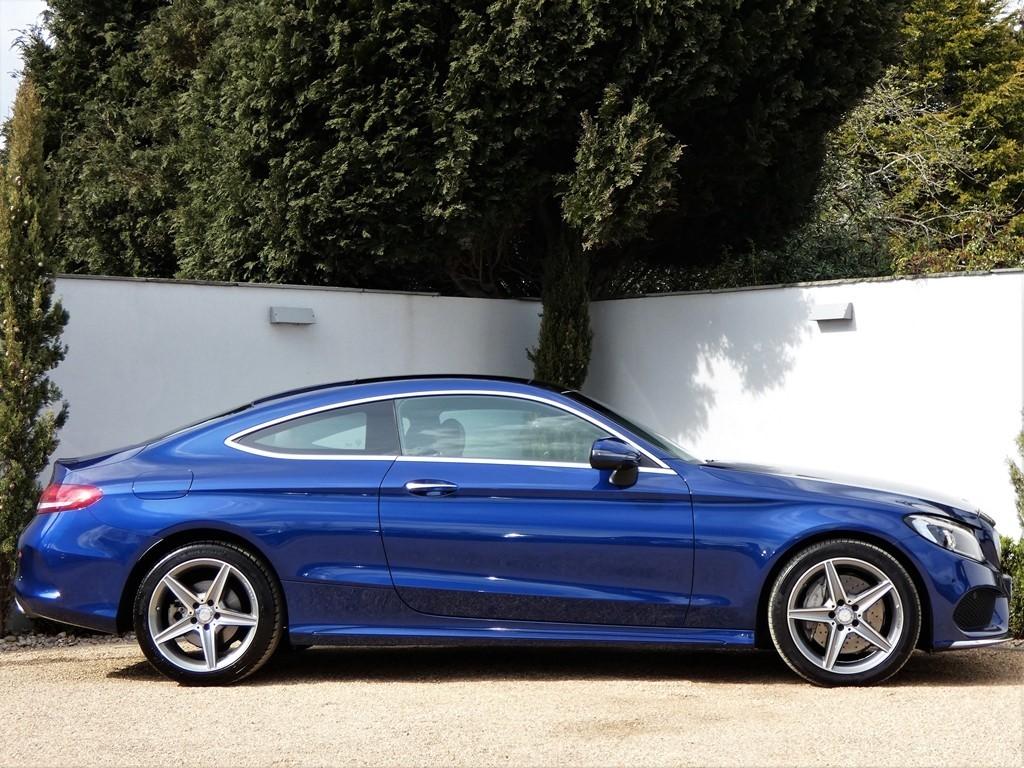 Used Brilliant Blue Metallic Mercedes C300 for Sale | Dorset