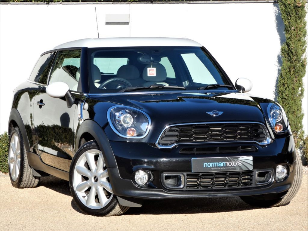 Used Absolute Black Mini Paceman For Sale Dorset
