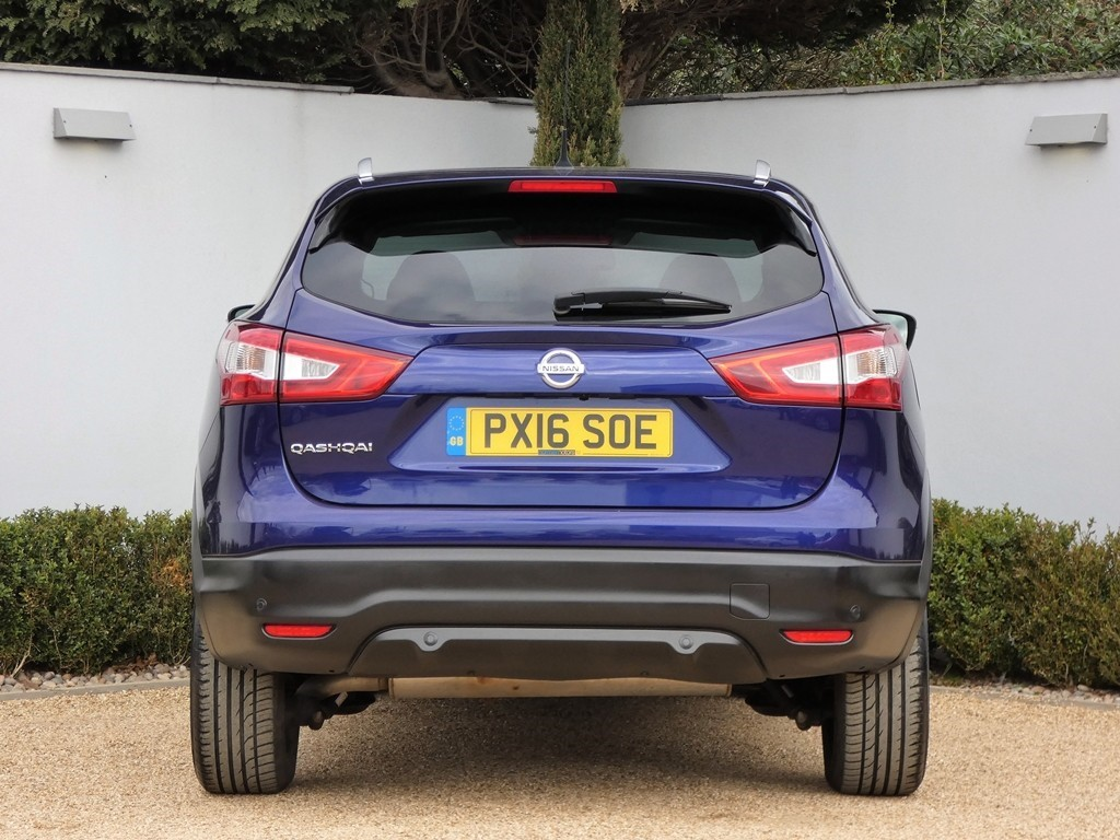 Used Ink Blue Metallic Nissan Qashqai for Sale | Dorset