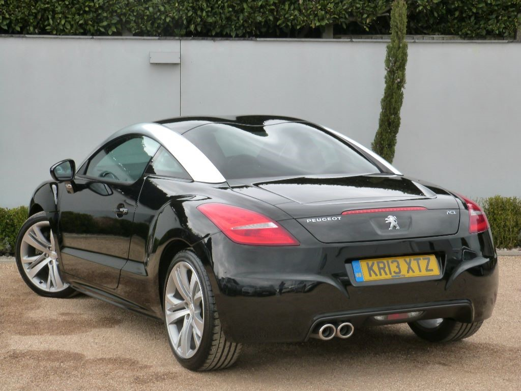used nera black peugeot rcz for sale dorset. Black Bedroom Furniture Sets. Home Design Ideas