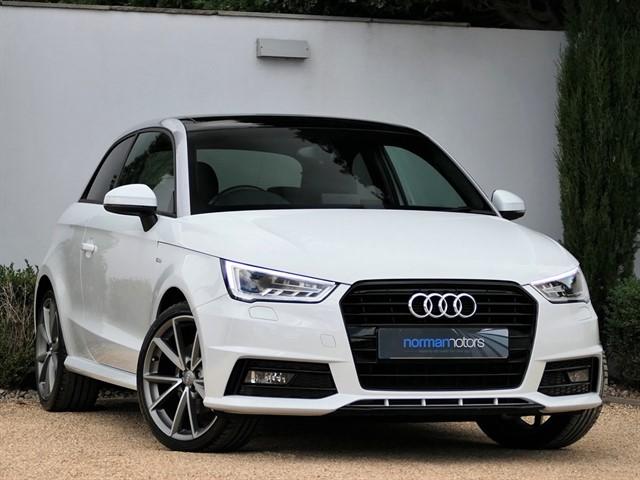 used Audi A1 TFSI S LINE BLACK EDITION