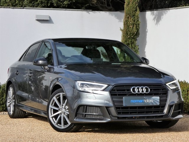 used Audi A3 TFSI S LINE BLACK EDITION