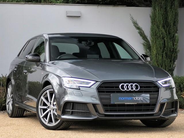 used Audi A3 TFSI S LINE BLACK EDITION