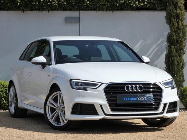 used Audi A3 TFSI S LINE