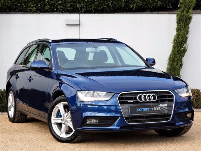 used Audi A4 Avant TDI QUATTRO SE TECHNIK