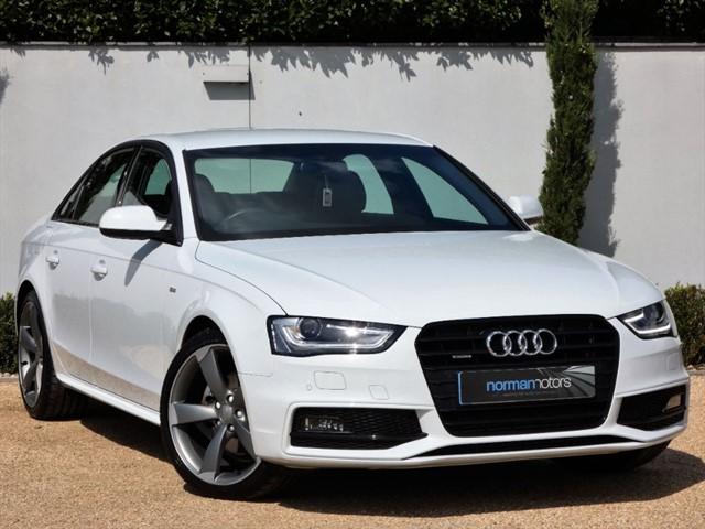 used Audi A4 TDI QUATTRO S LINE BLACK EDITION S/S