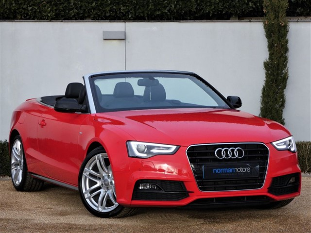 used Audi A5 TDI S LINE SPECIAL EDITION PLUS
