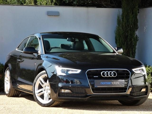 used Audi A5 TDI QUATTRO S LINE