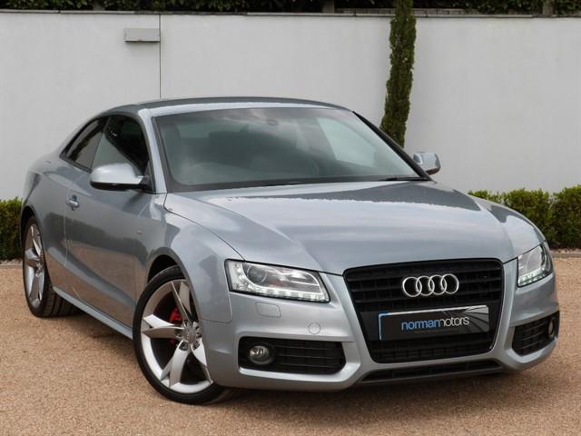 used Audi A5 TDI S LINE BLACK EDITION
