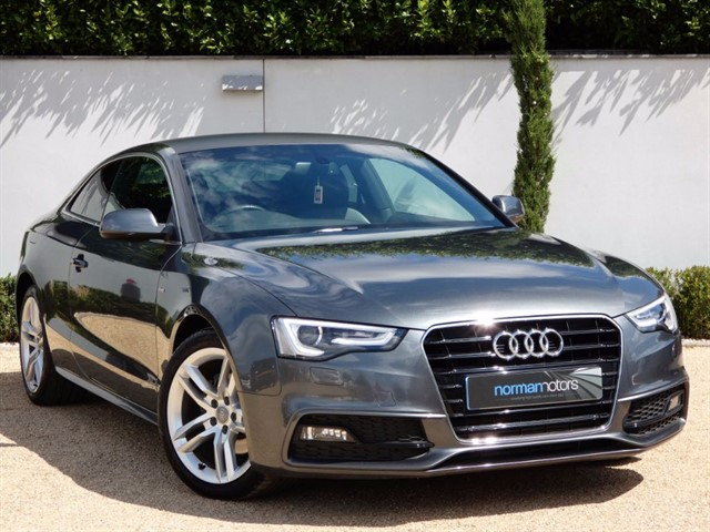 used Audi A5 TDI S LINE S/S