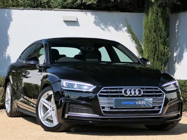 used Audi A5 SPORTBACK TFSI S LINE
