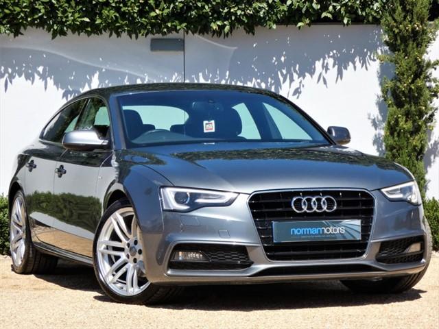 used Audi A5 SPORTBACK TDI S LINE S/S