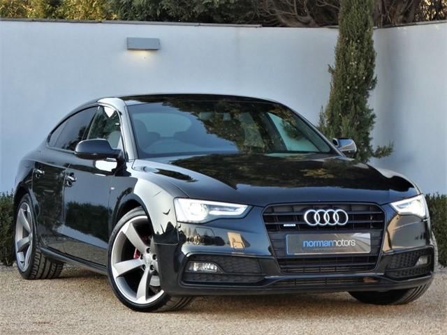 used Audi A5 SPORTBACK TDI QUATTRO S LINE BLACK ED S/S