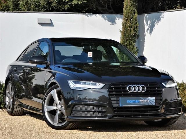 used Audi A6 TDI ULTRA S LINE BLACK EDITION