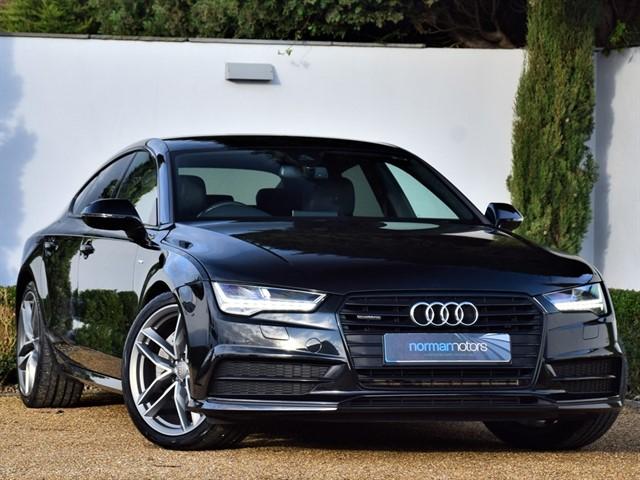 used Audi A7 SPORTBACK TDI QUATTRO S LINE BLACK ED
