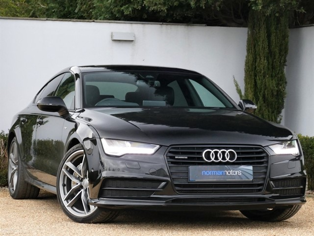 used Audi A7 SPORTBACK TDI QUATTRO S LINE