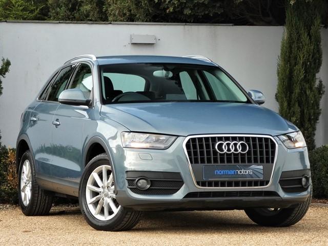 used Audi Q3 TDI SE