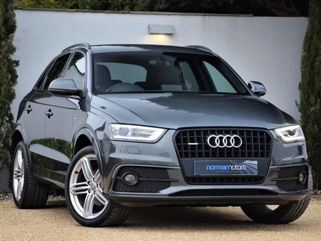 used Audi Q3 TFSI QUATTRO S LINE PLUS