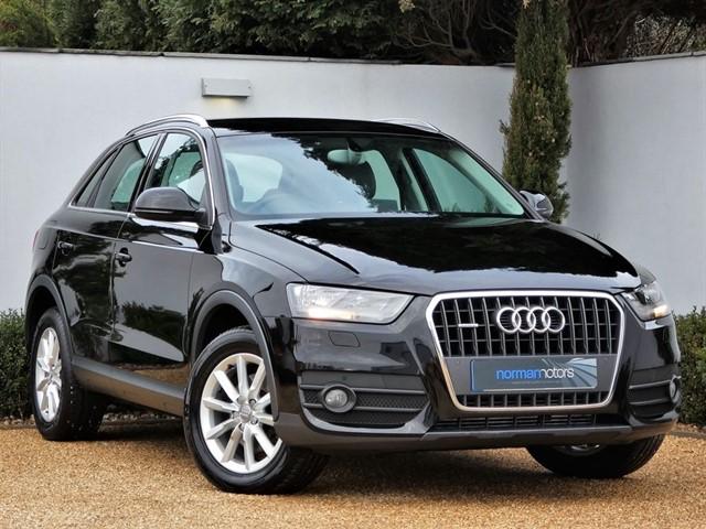 used Audi Q3 TDI QUATTRO SE