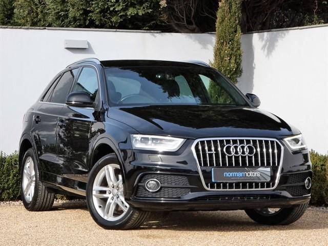 used Audi Q3 TDI QUATTRO S LINE