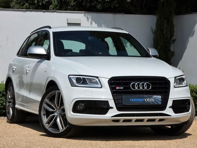 used Audi SQ5 TDI QUATTRO