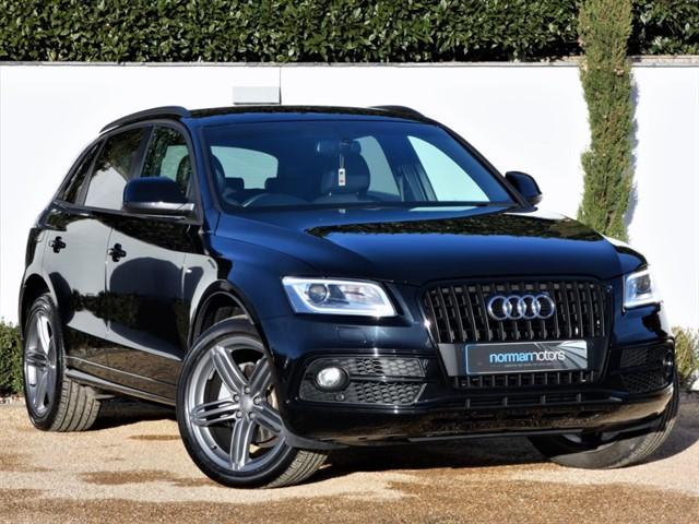 used Audi Q5 TDI QUATTRO S LINE PLUS S/S