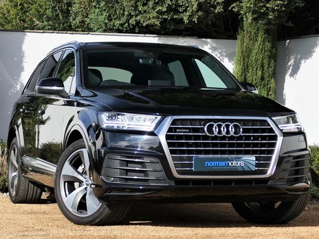 used Audi Q7 3.0 TDI V6 S line Tiptronic quattro