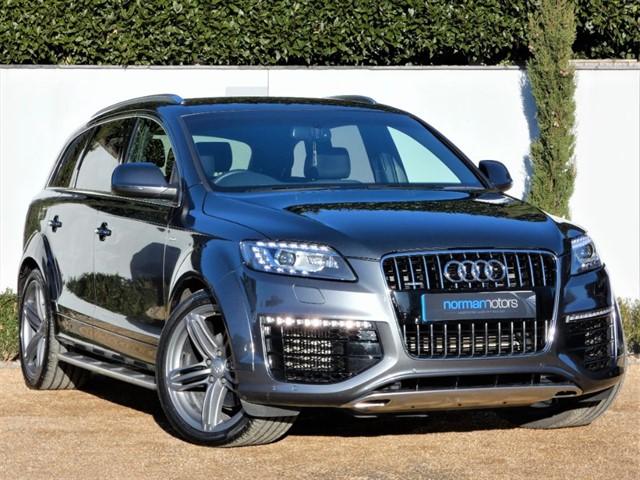 used Audi Q7 TDI QUATTRO S LINE SPORT EDITION