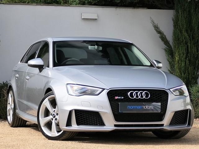 used Audi RS3 SPORTBACK QUATTRO