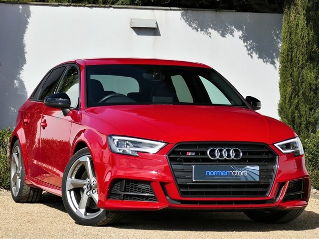 used Audi S3 SPORTBACK TFSI QUATTRO BLACK EDITION
