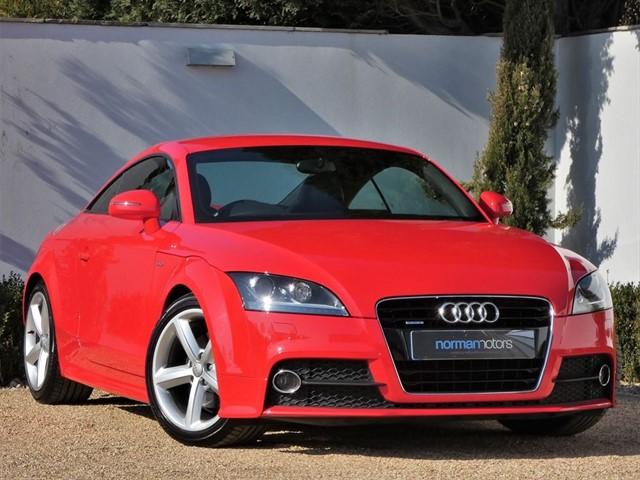used Audi TT TDI QUATTRO S LINE