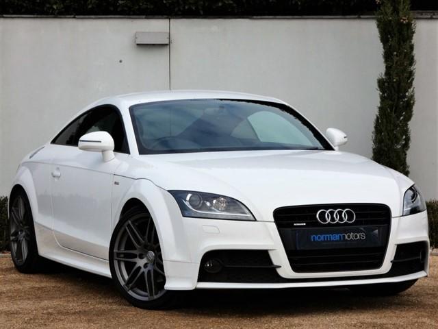 used Audi TT TFSI QUATTRO S LINE BLACK EDITION