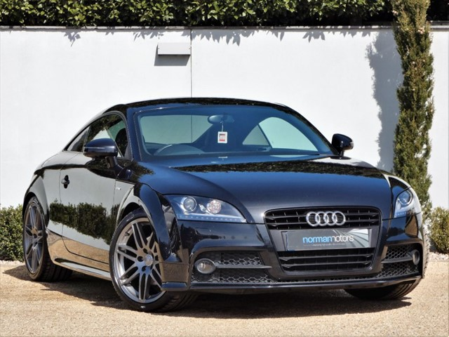 used Audi TT TFSI BLACK EDITION