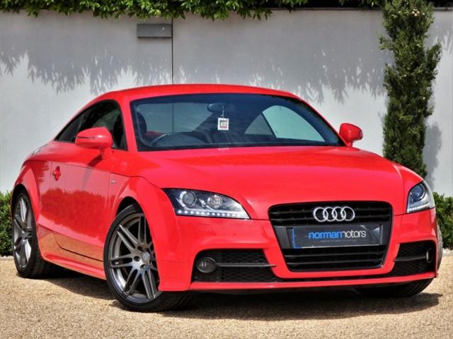 used Audi TT TFSI S LINE BLACK EDITION